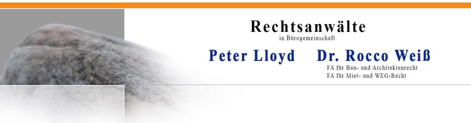 Rechtsanwälte Lloyd & Dr. Weiss
